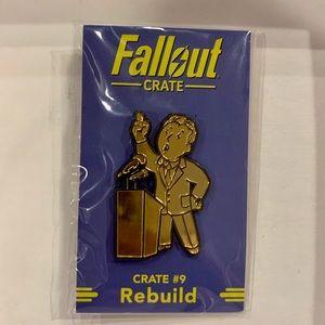 Sealed Fallout Crate #9 Rebuild Pin